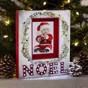 🍀 2/$20 Light Up Marquee Christmas Frame